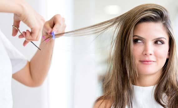 Luna per il taglio dei capelli