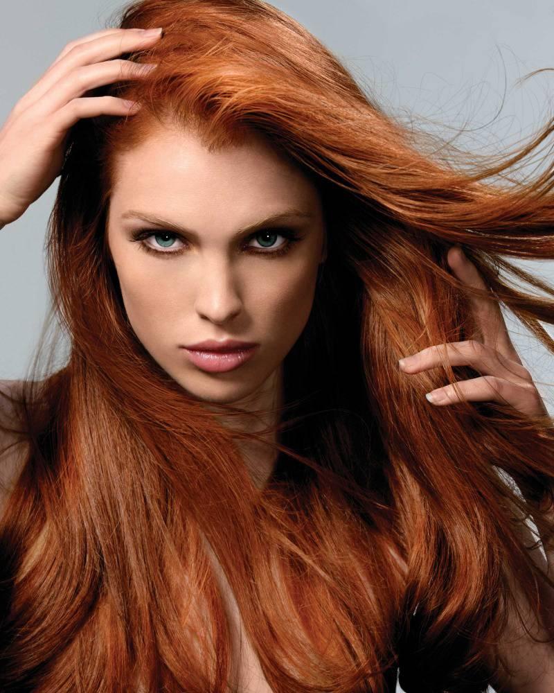 Taglio di capelli rossi uomo