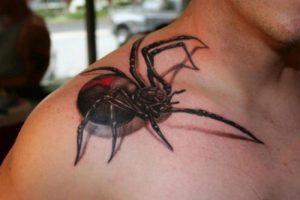 tatuaggi-3d-ragno