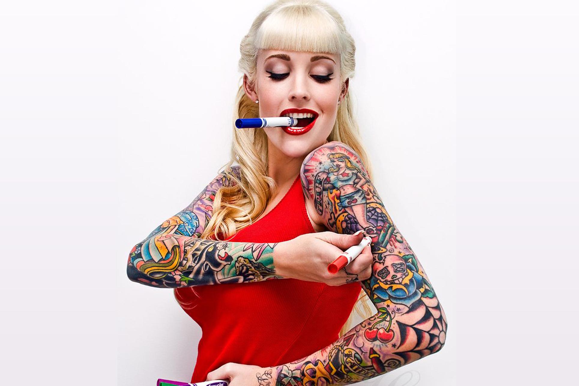 i pi bei disegni tatuaggi lasciati ispirare