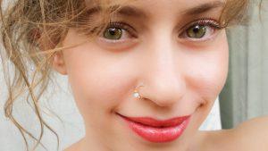 Nostril-piercing