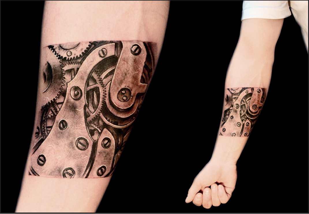 Tatuaggi biomeccanici la nuova frontiera dei tatoo for Tatuaggi idee uomo