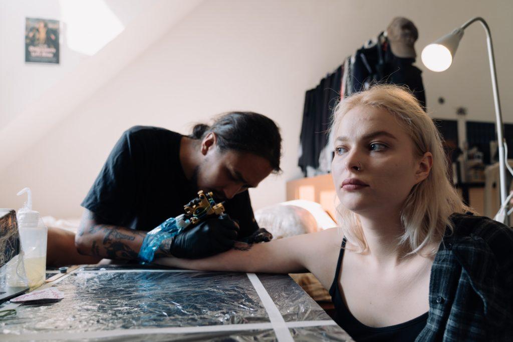 tatuaggio in inverno